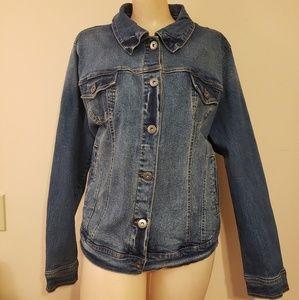 Torrid Demin Full Length Jacket